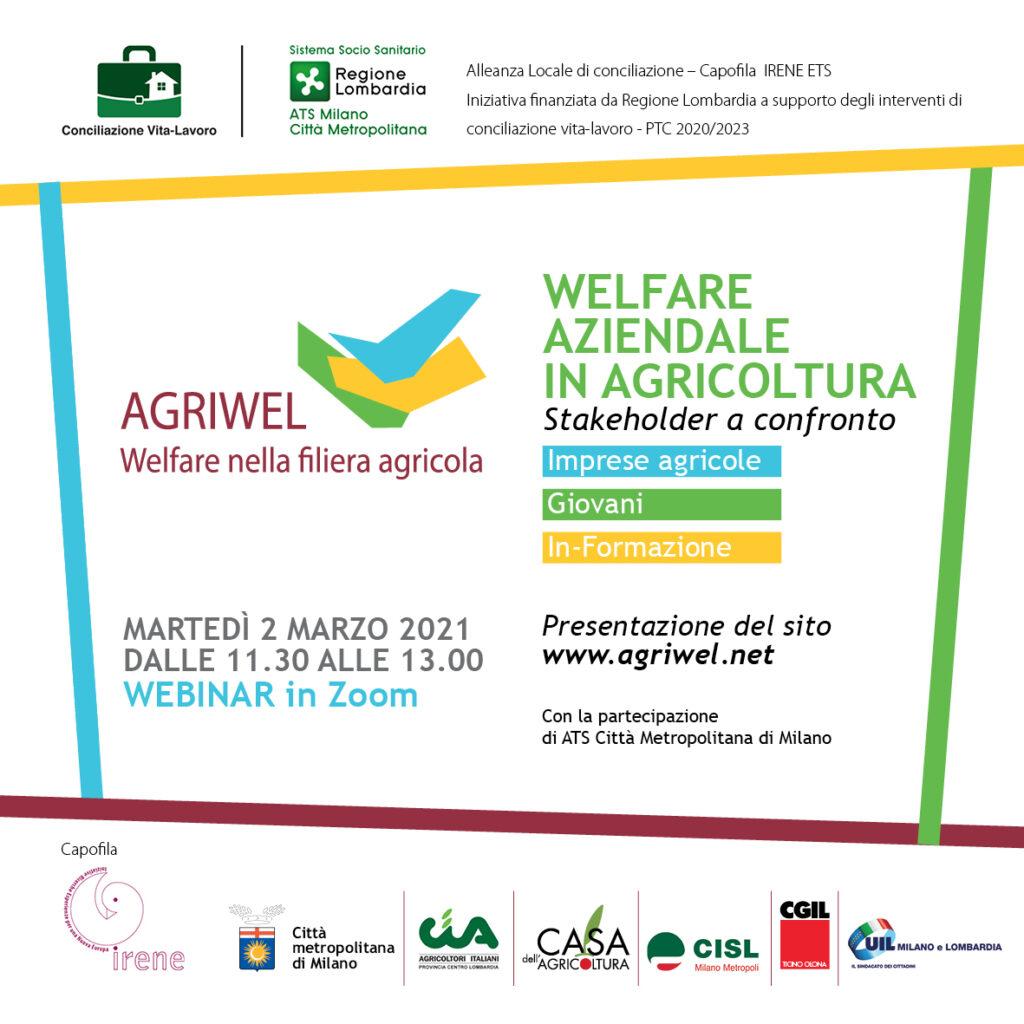 Webinar Welfare aziendale in agricoltura